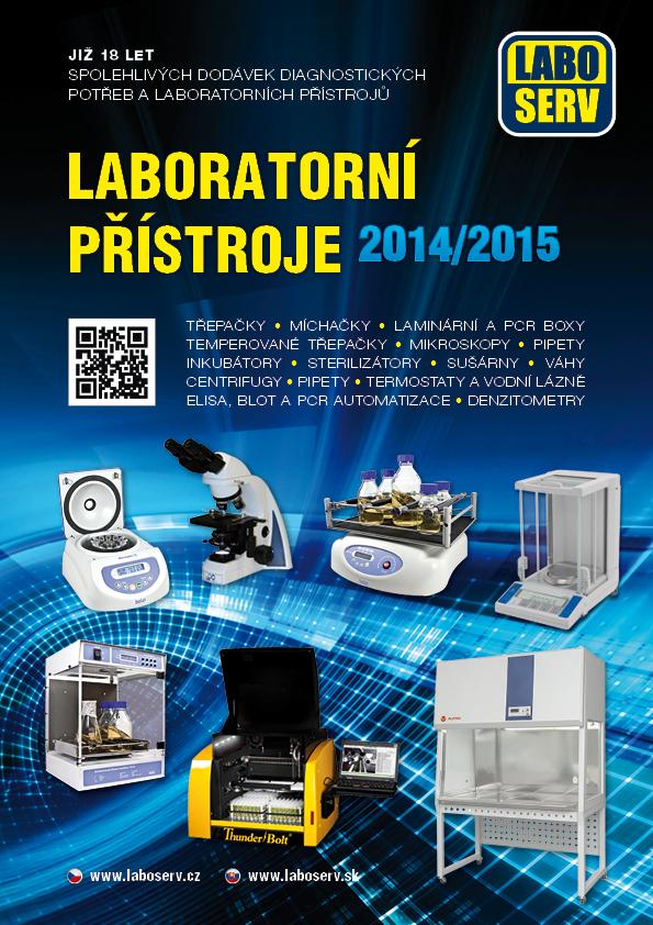 Katalog - Laboratorní přístroje 2014/2015 - Obálka