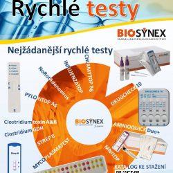 ilustrační obrázek Rychlé testy BIOSYNEX