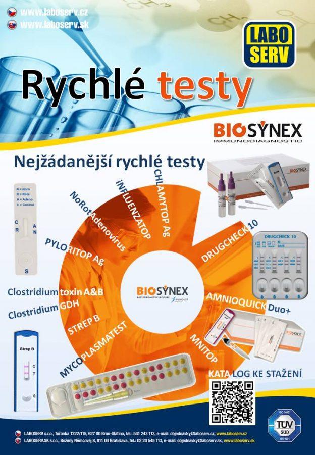 Rychlé testy BIOSYNEX