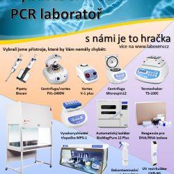 ilustrační obrázek Vybavení PCR laboratoří