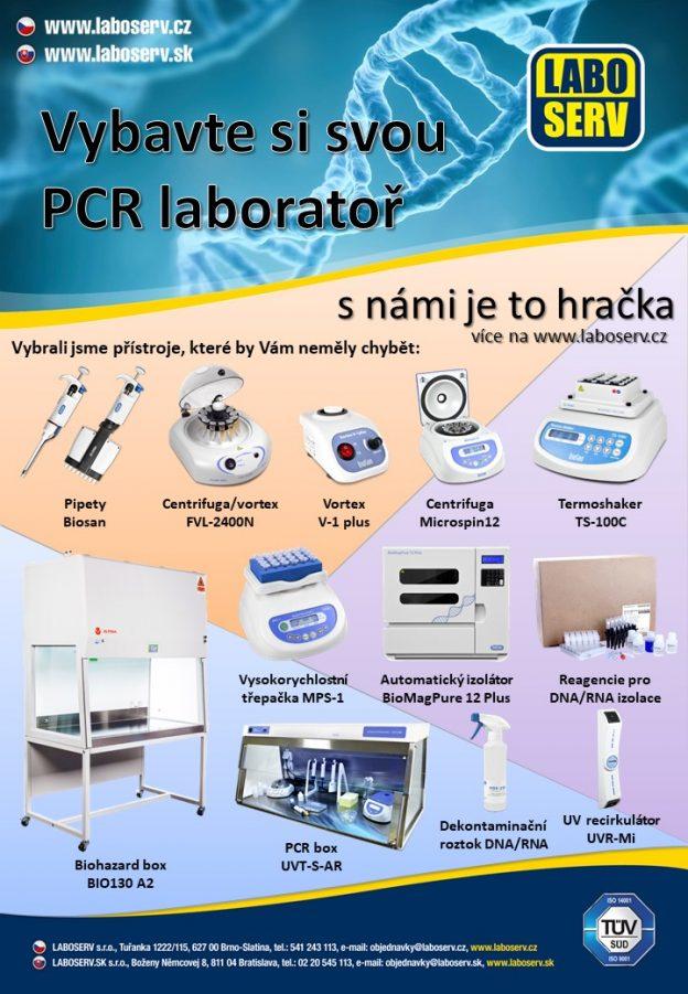 Vybavení PCR laboratoří