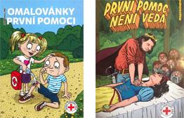 Český červený kříž - Omalovánky